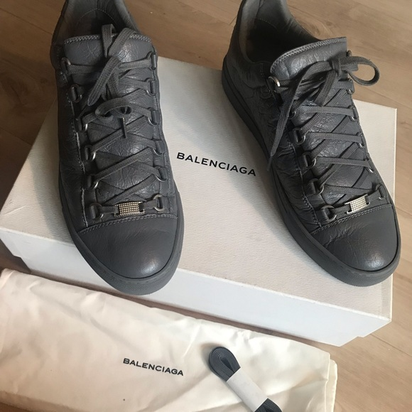 beauty coupon code latest discount Balenciaga Arena Low Sneakers